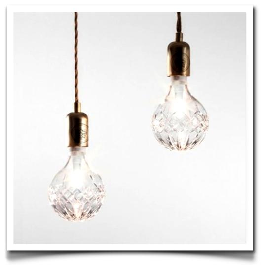 Lee Broom's lead Crystal Bulbs
